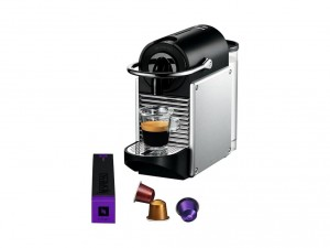 Aanbieding Nespresso Machine Magimix Nespresso Pixie M110 Metal Grey