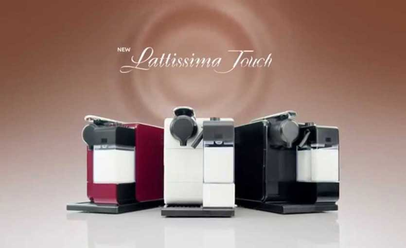 delonghi lattissima touch met melkreservoir
